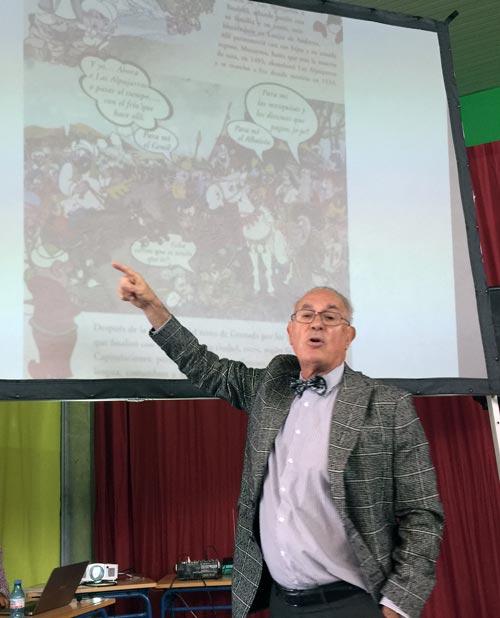 """Conferencias y charlas del Dr. Carlos Ballesta sobre """"La apasionante historia de los moriscos"""""""