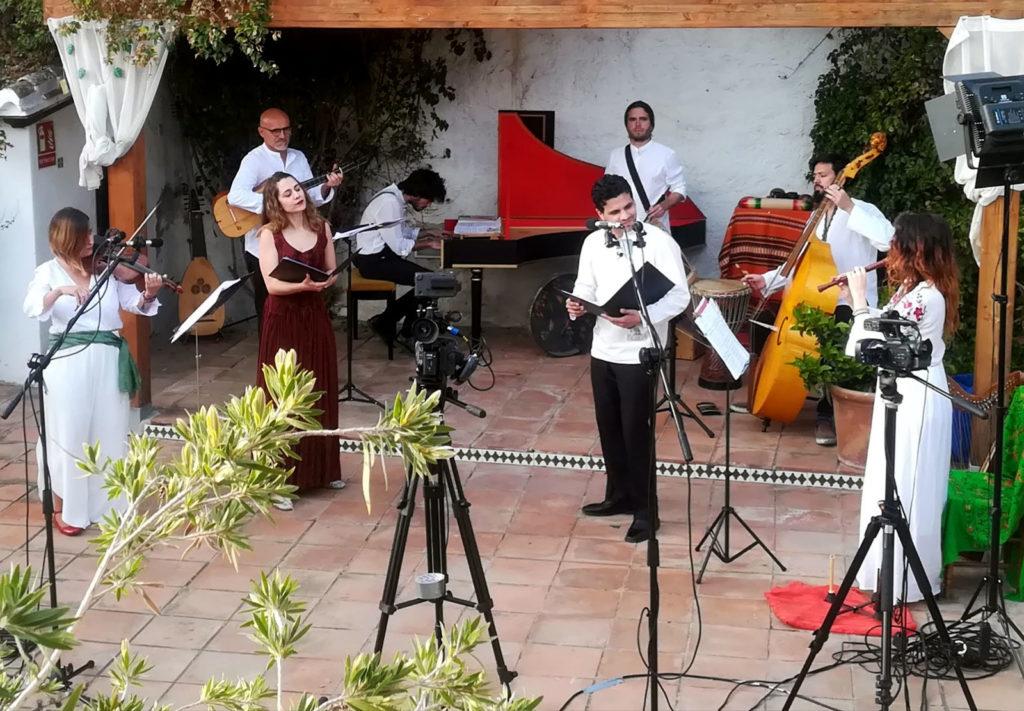Grabación Íliber Ensemble y el Códice Trujillo
