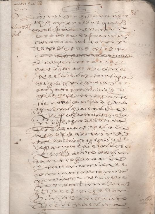 Fundación del Mayorazgo que en la ciudad de Granada fundó D. Giner de Carranza