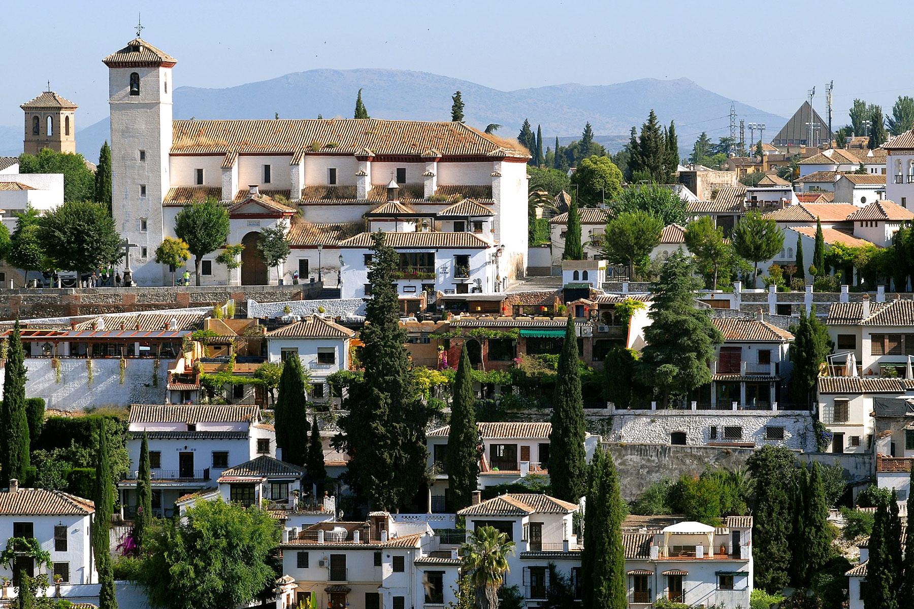 Granada - Albaicin - Mirador