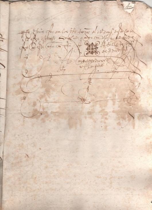 1545. Donación del Licenciado Juan Ruíz a su sobrino Martín Ruíz
