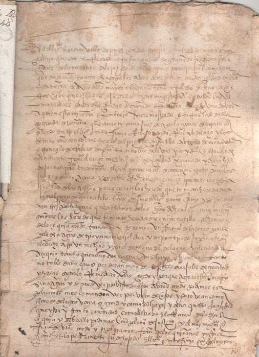1548. Executoria del Juez de Apelaciones del Juzgado de las Aguas de Granada