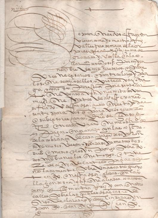 1562. Escritura de imposición de un censo de 50 ducados