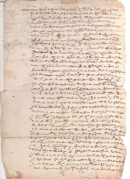 1630. Relación jurada de la obra ejecutada en la huerta de la Garnatilla en el año de 1630