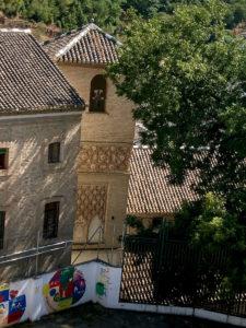 Carmen de Aben Humeya - Alminar de la iglesia de San Juan de los Reyes