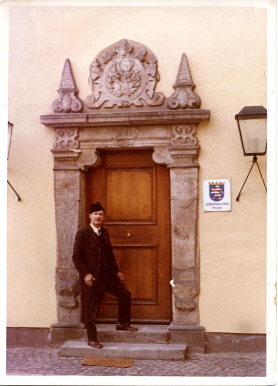 D. Alfonso de Borbón en Liechtenstein (h. 1970)