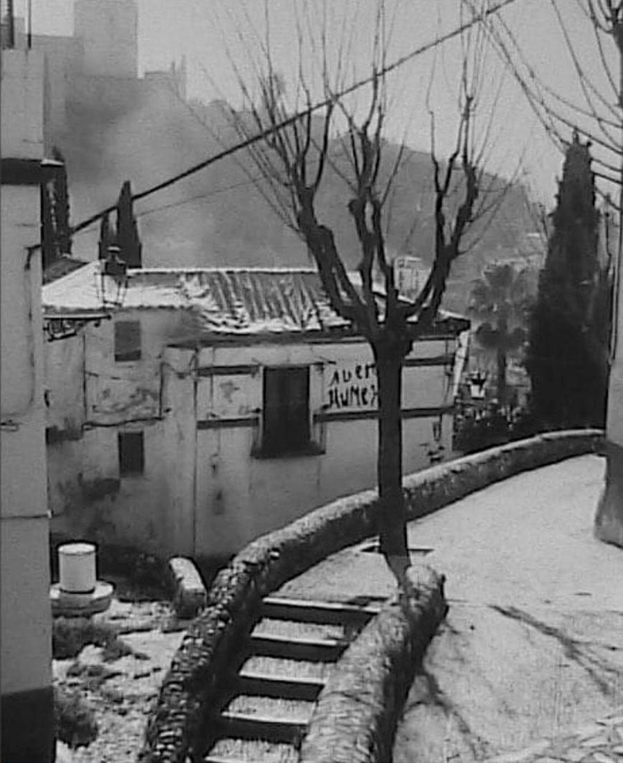 Estado de conservación de la casa museo justo antes de su adquisición por Carlos Ballesta (mediados los años 90 del S. XX)